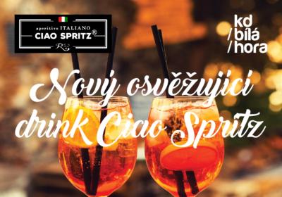 Osvěžte se s novým lahodným italským drinkem Ciao Spritz!